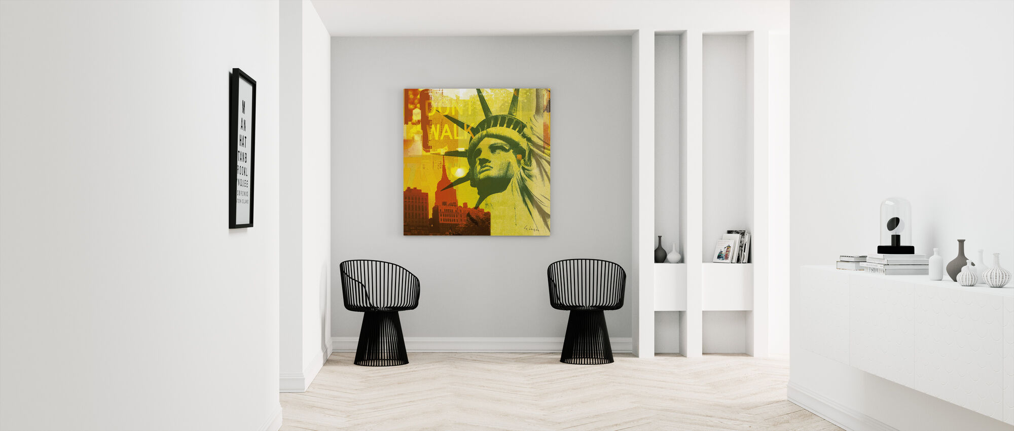 New York Dont Walk III - Canvas print - Hallway