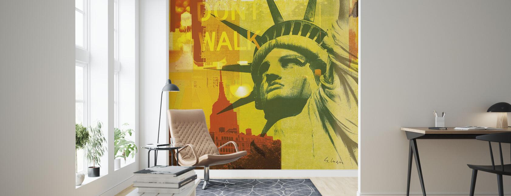 New York Dont Walk III - Tapet - Stue