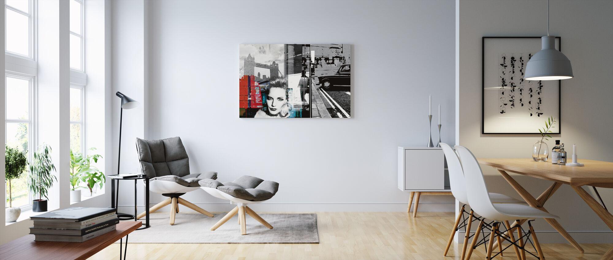 London - Canvas print - Living Room