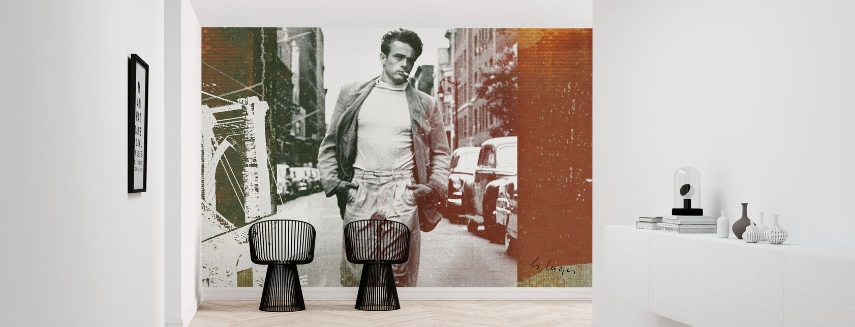 James Dean XVI - Wallpaper - Hallway