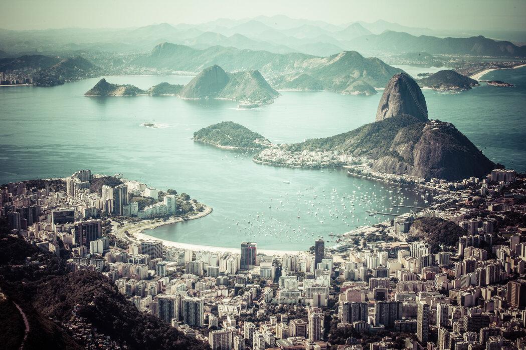 Rio de Janeiro - Sugar Loaf Mountain - Canvas print