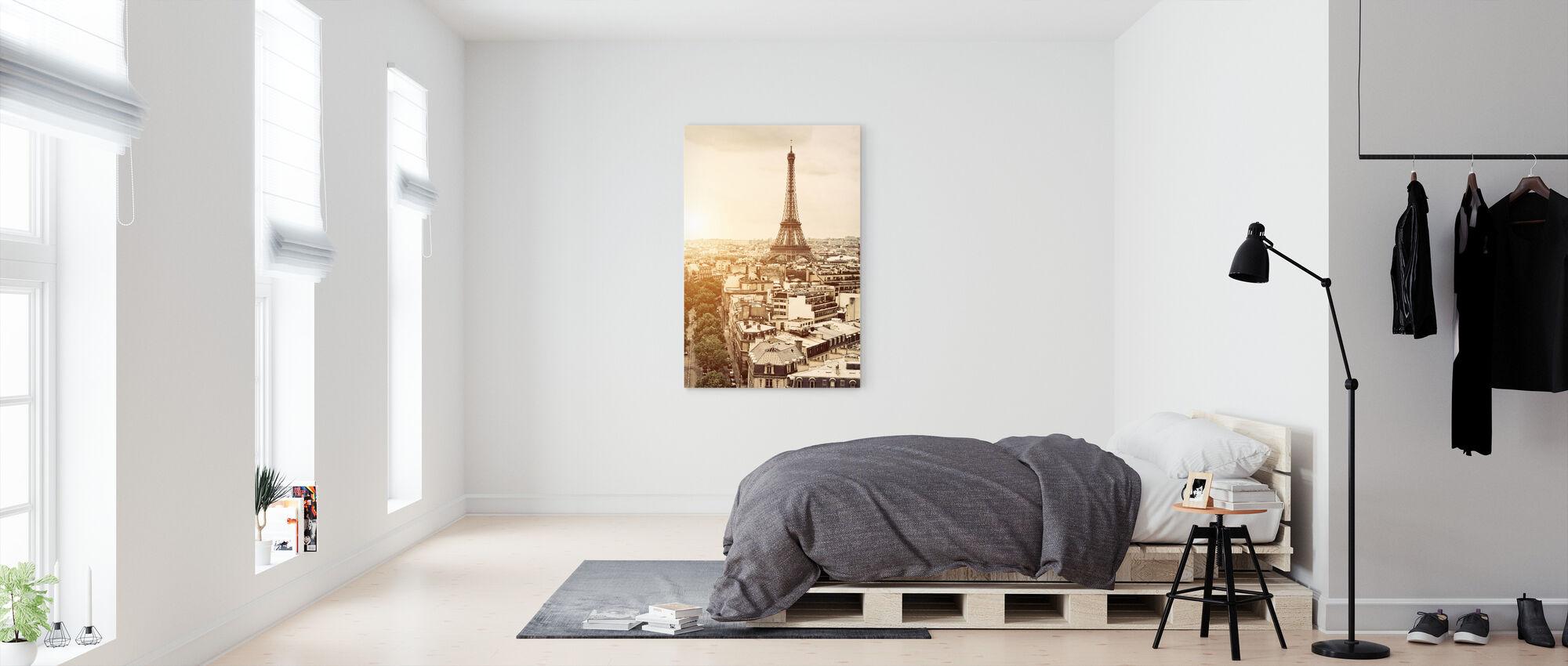 Paris - Eiffel Tower - Canvas print - Bedroom