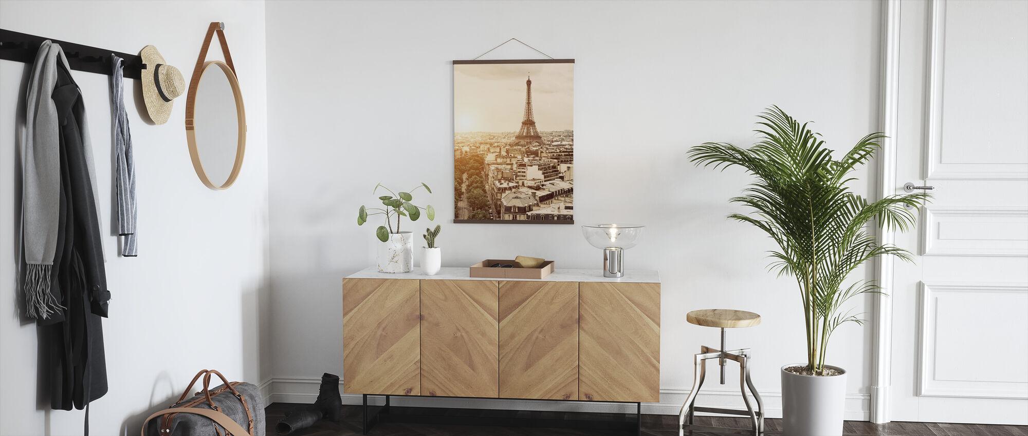 Parijs - Eiffeltoren - Poster - Gang