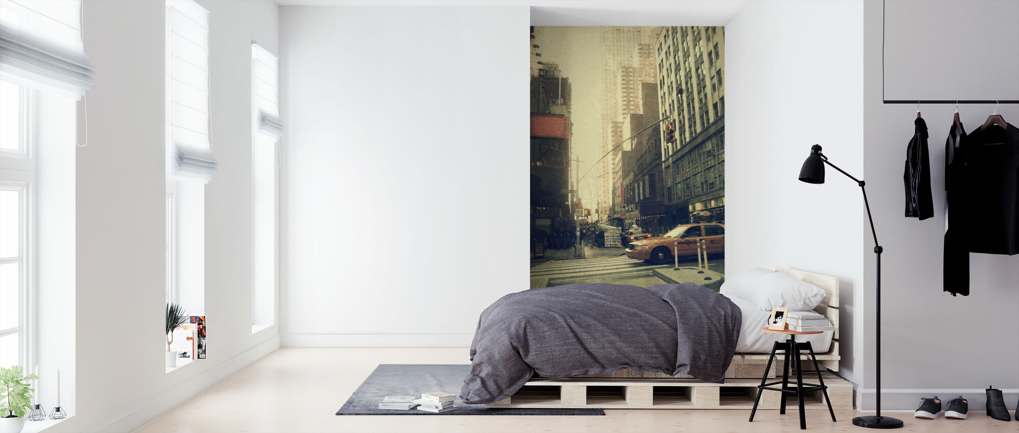 New York City - Broadway - Wallpaper - Bedroom