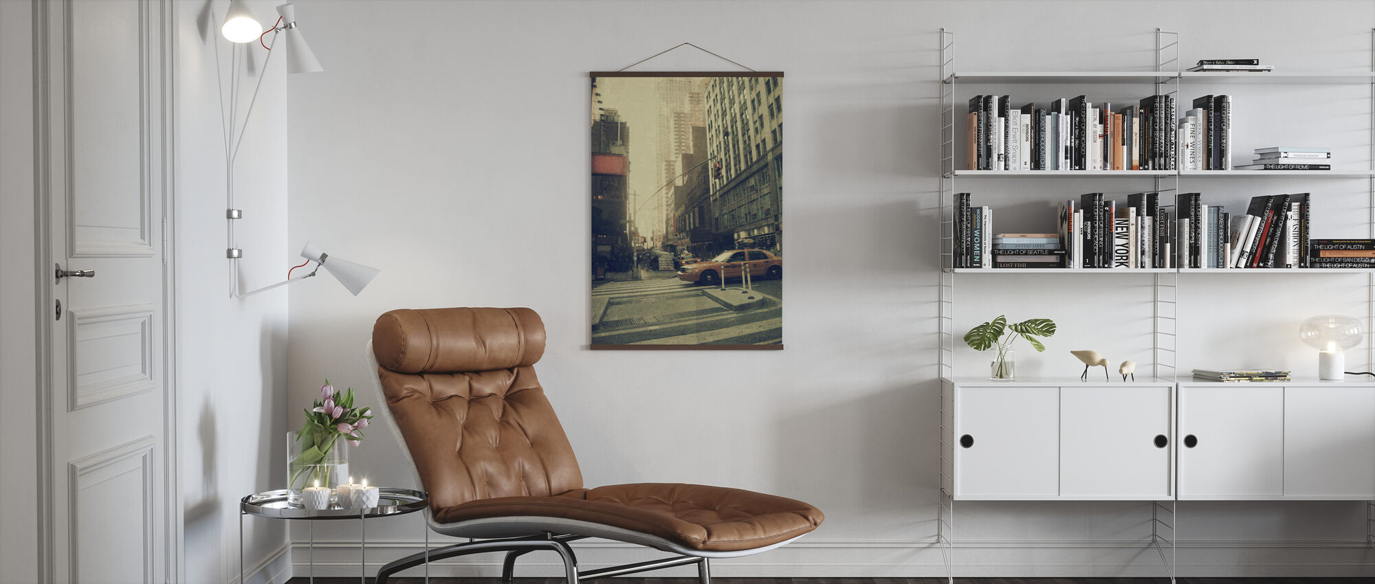 New York City - Broadway - Poster - Living Room