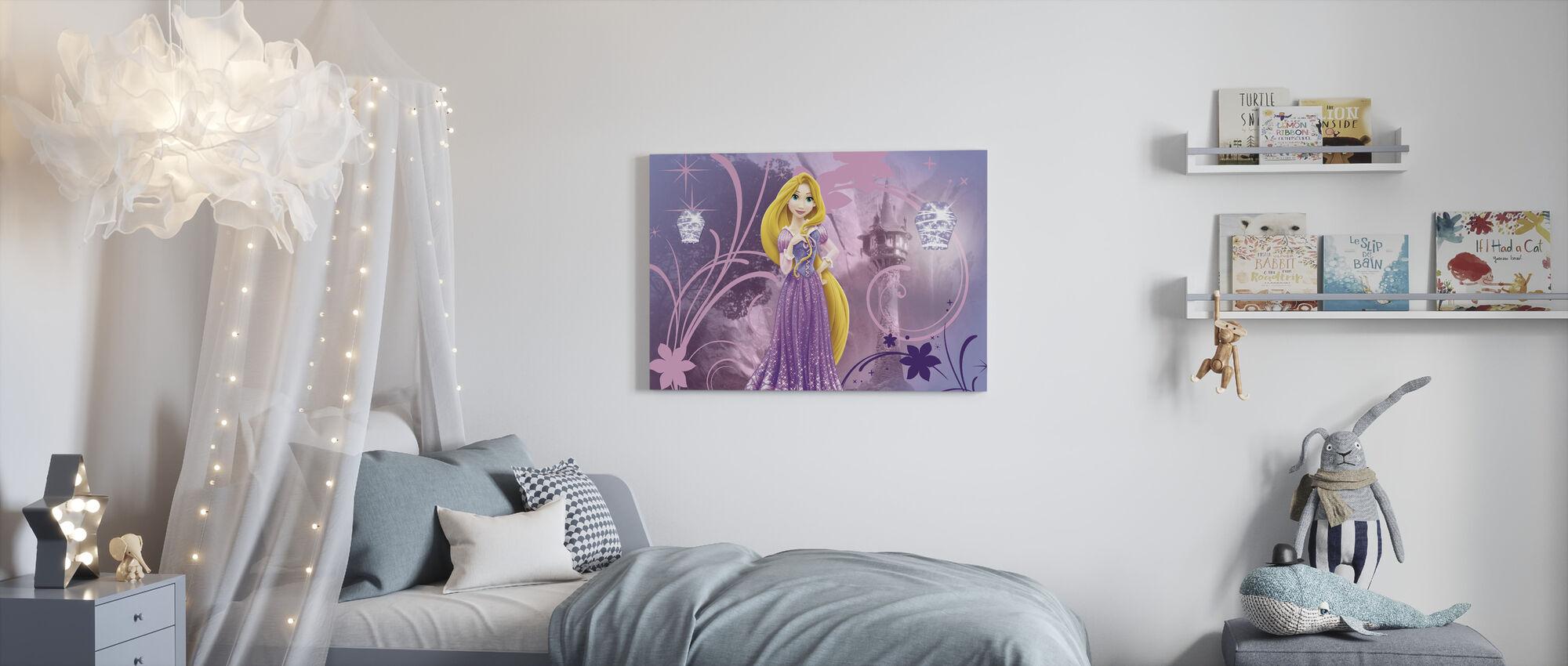 Disney Princess - Rapunzel - Canvastaulu - Lastenhuone