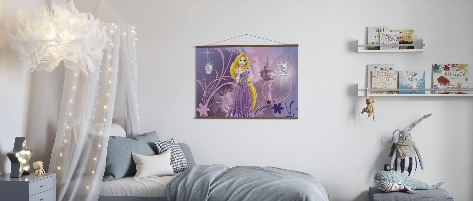 Disney Princess - Rapunzel - Juliste - Lastenhuone