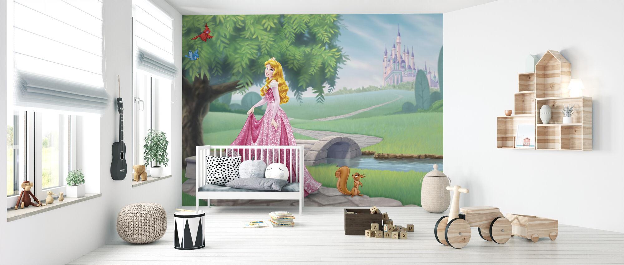 Disney Princess - Aurora - Tapetti - Vauvan huone