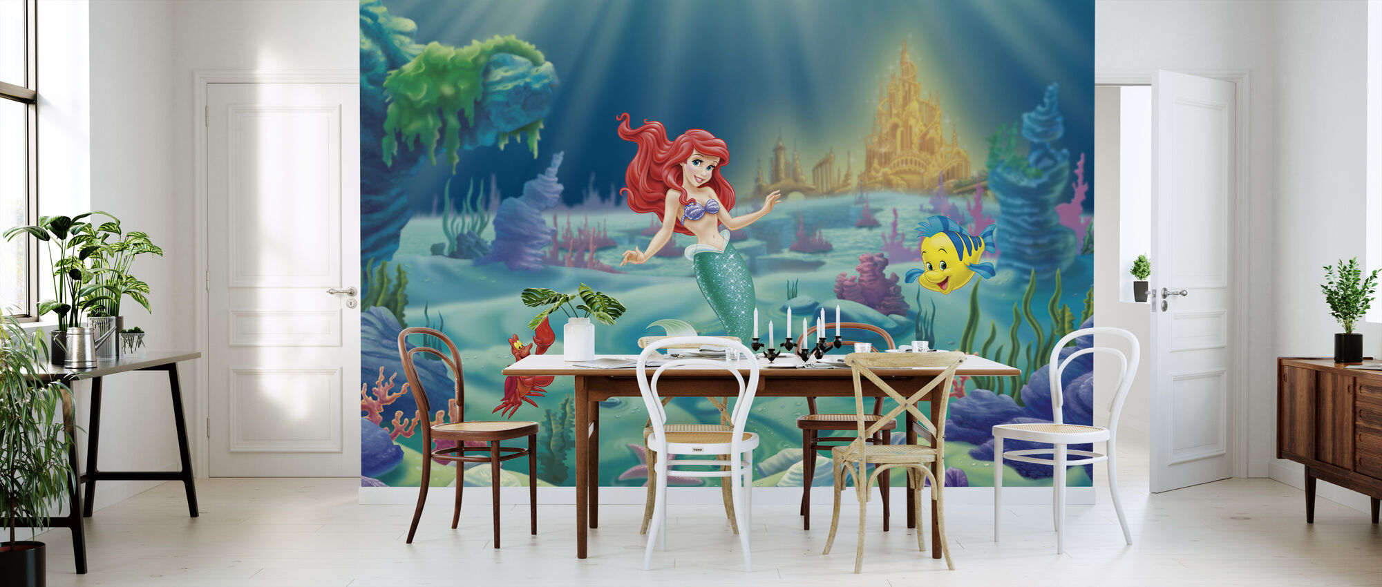 Disney Princess - Ariel - Tapetti - Keittiö