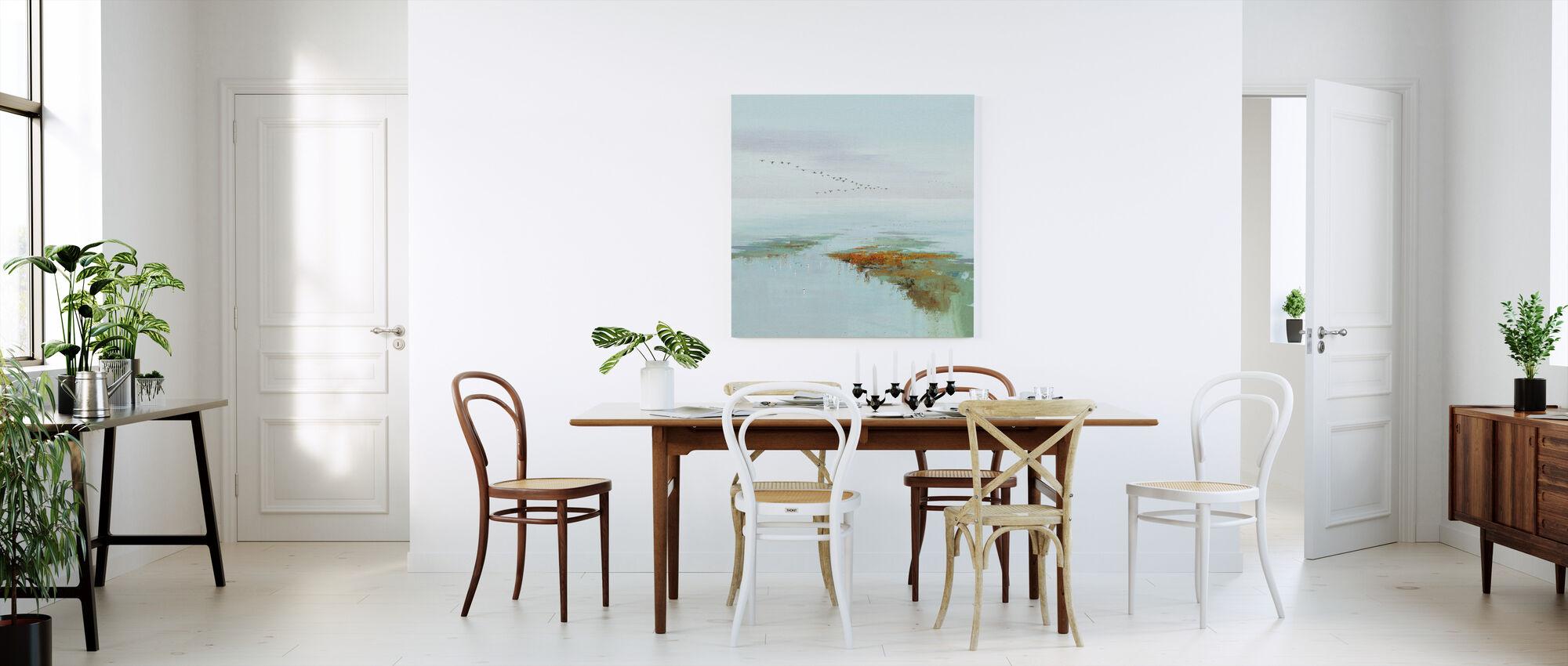 Vliegende vogels - Canvas print - Keuken