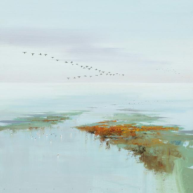 Kuva Flying Birds Tapetit / tapetti 100 x 100 cm