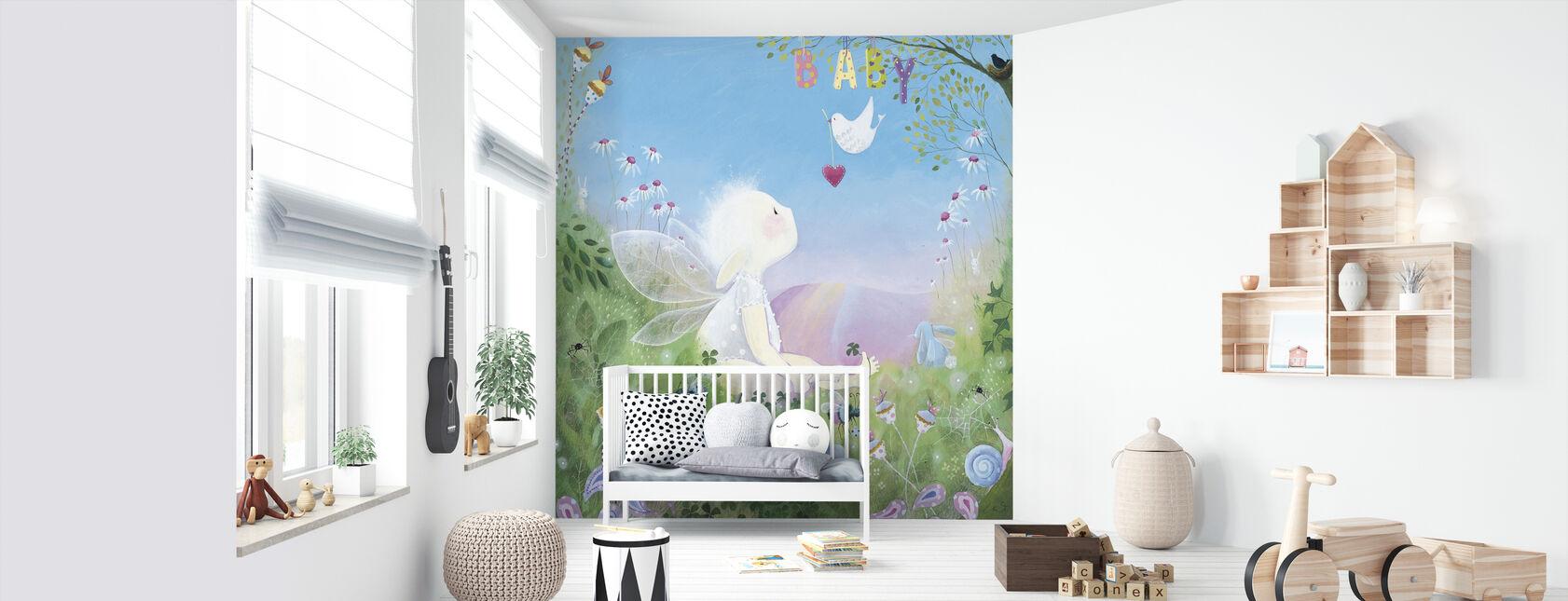 Baby - Wallpaper - Nursery