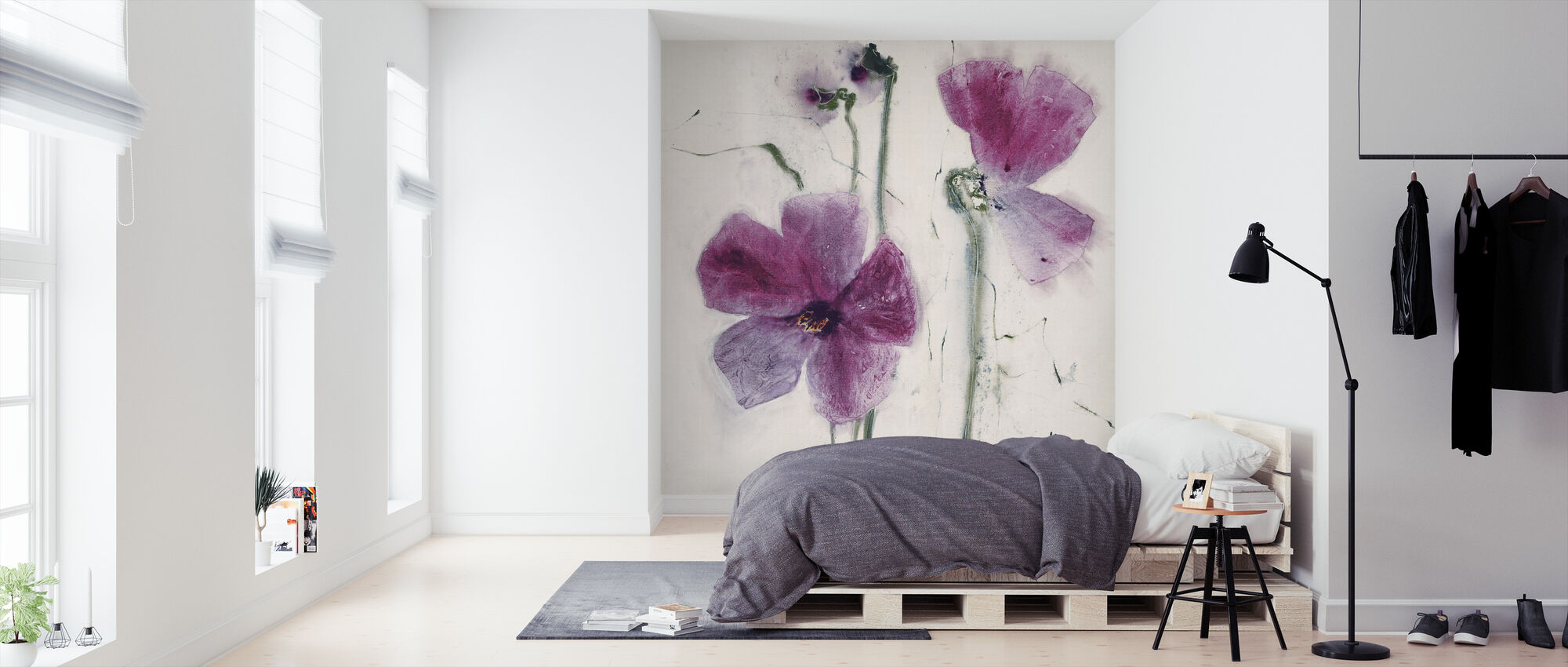 The Purple Thoughts - Wallpaper - Bedroom