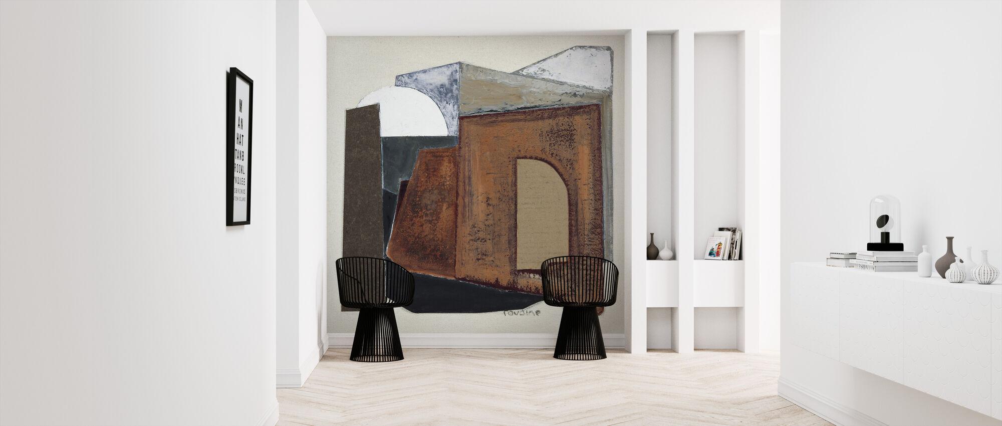Sketch without ladder - Wallpaper - Hallway