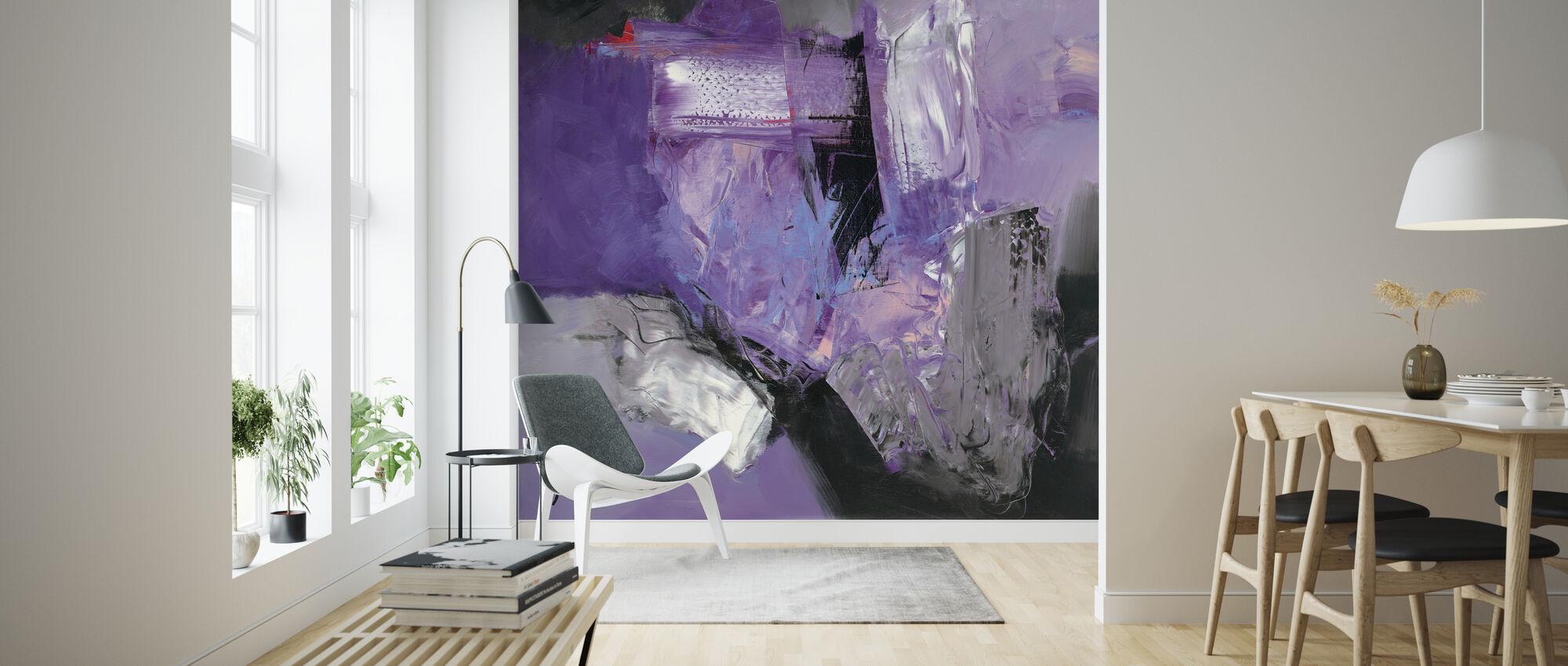 Abstrakte Variationen - Tapete - Wohnzimmer