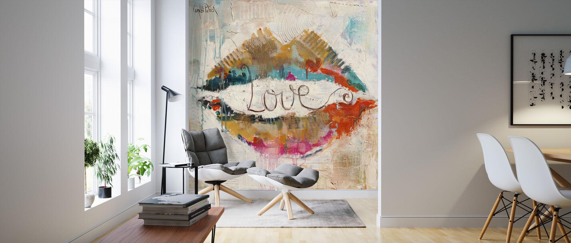 Liefde - Behang - Woonkamer