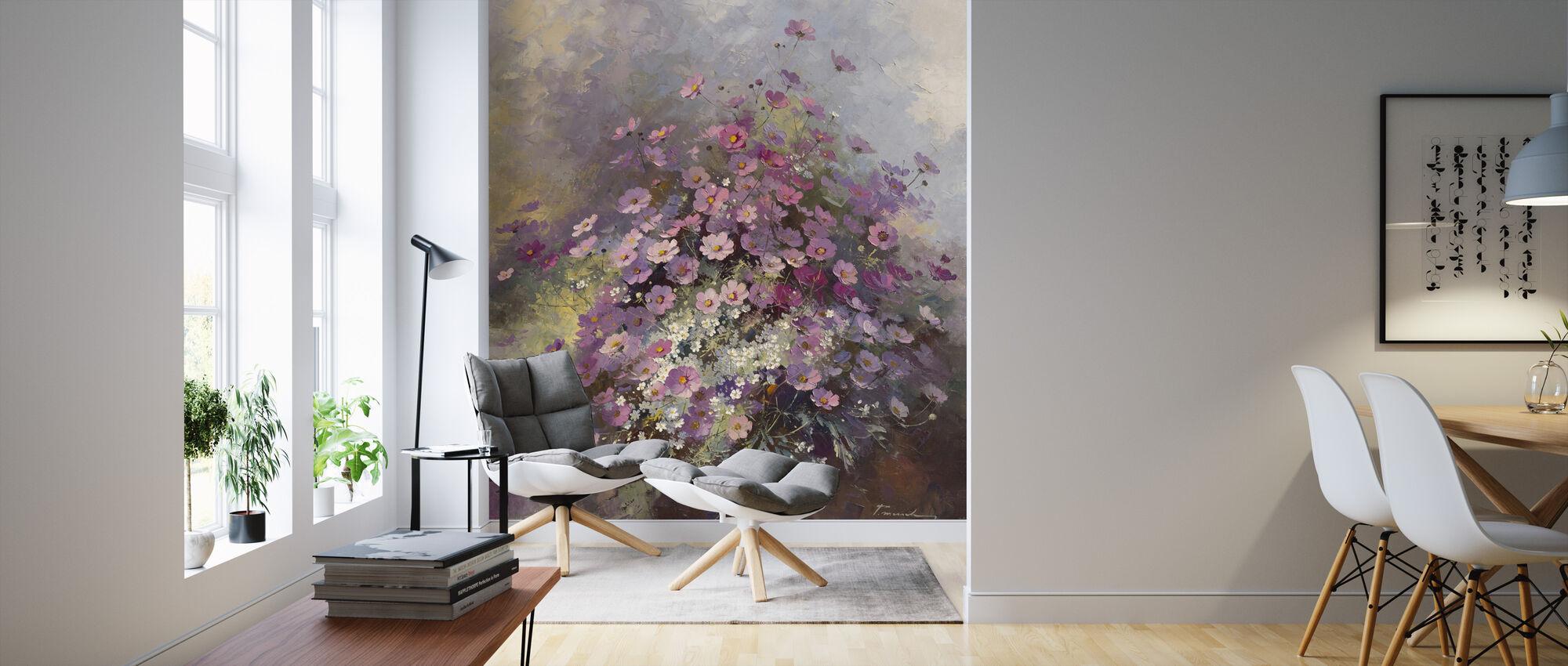 Cosmos - Wallpaper - Living Room