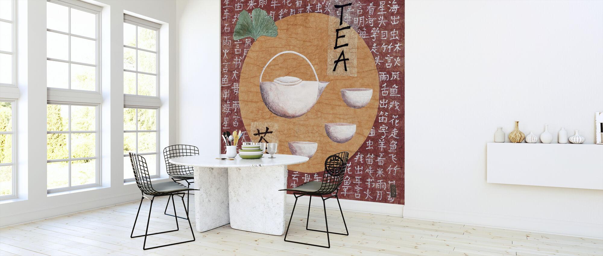 Teatime Pu-Erh-Min Tu Cha - Papier peint - Cuisine