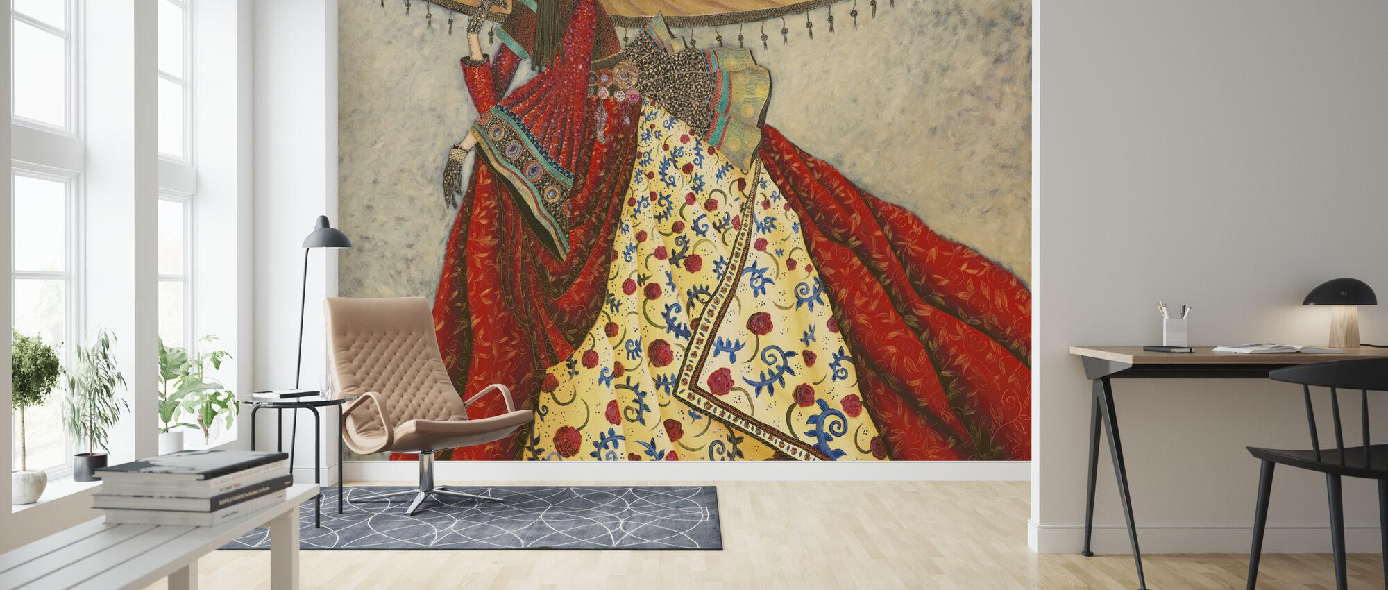 Japanese Air - Wallpaper - Living Room