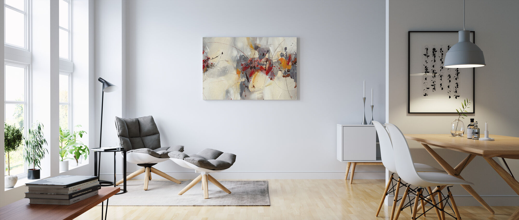 Slagverk - Canvastavla - Vardagsrum