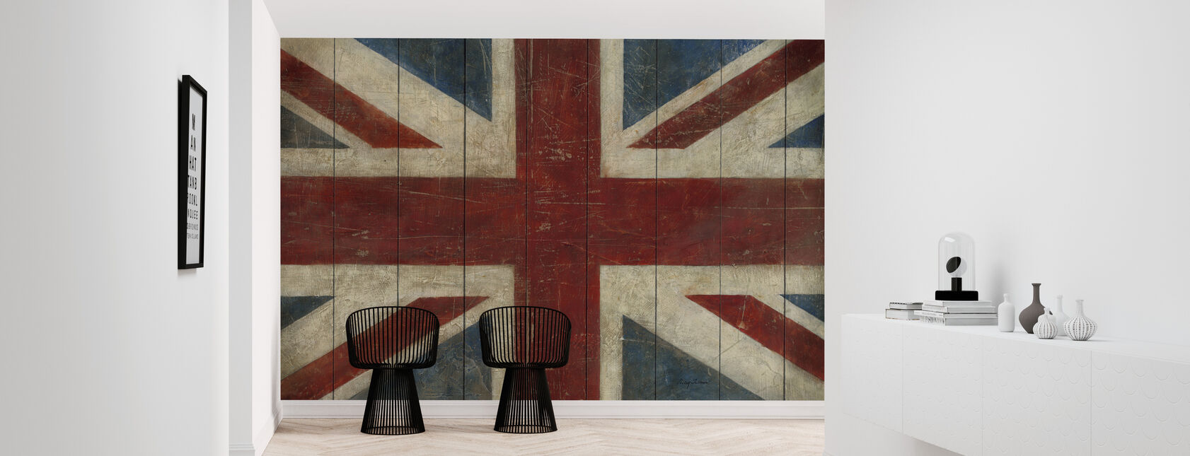 Avery Tillmon - Union Jack - Tapet - Gang