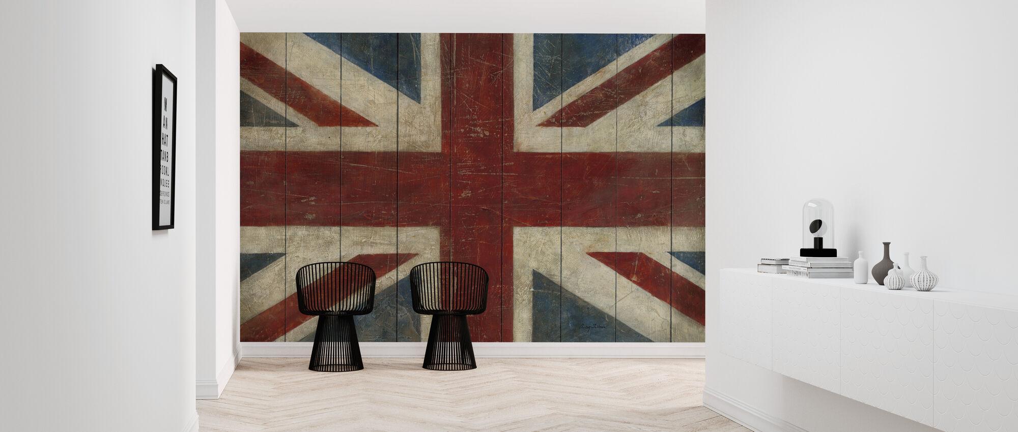 Avery Tillmon - Union Jack - Wallpaper - Hallway
