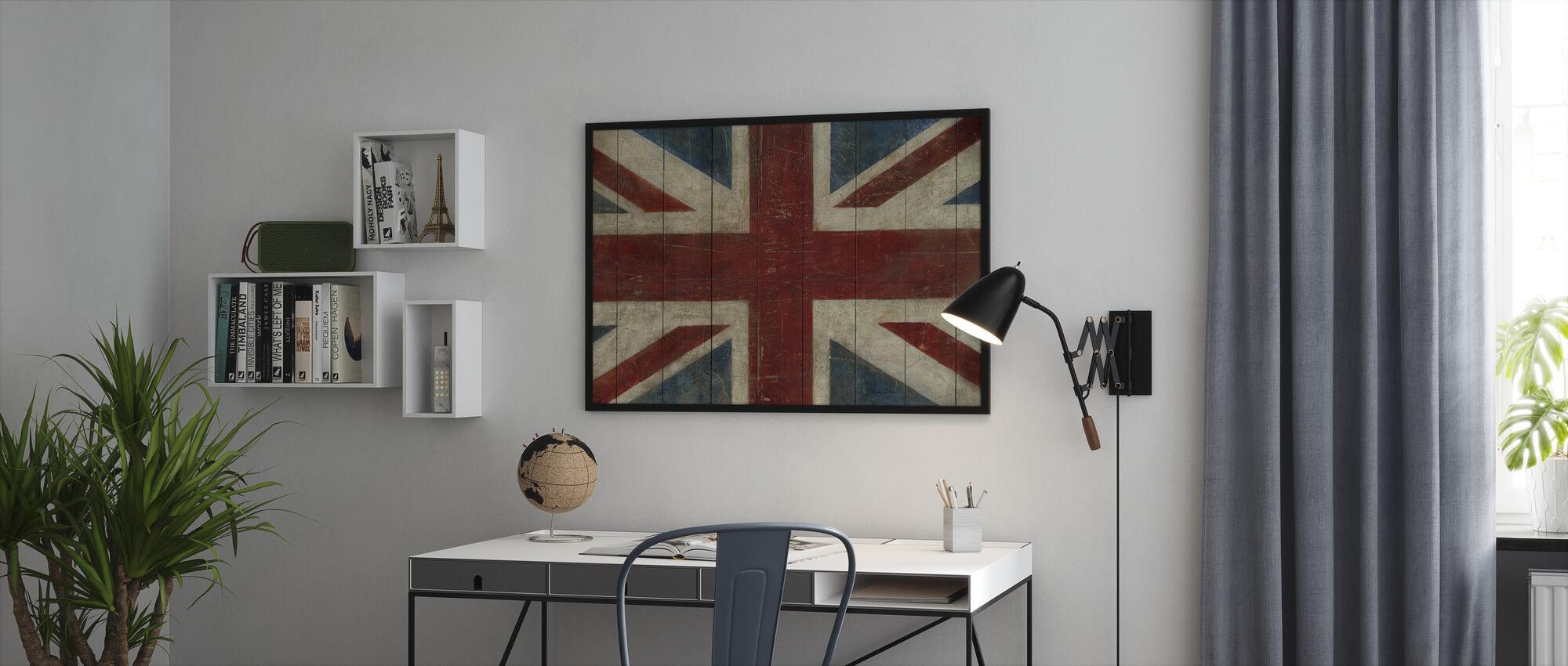 Avery Tillmon - Union Jack - Kehystetty kuva - Toimisto