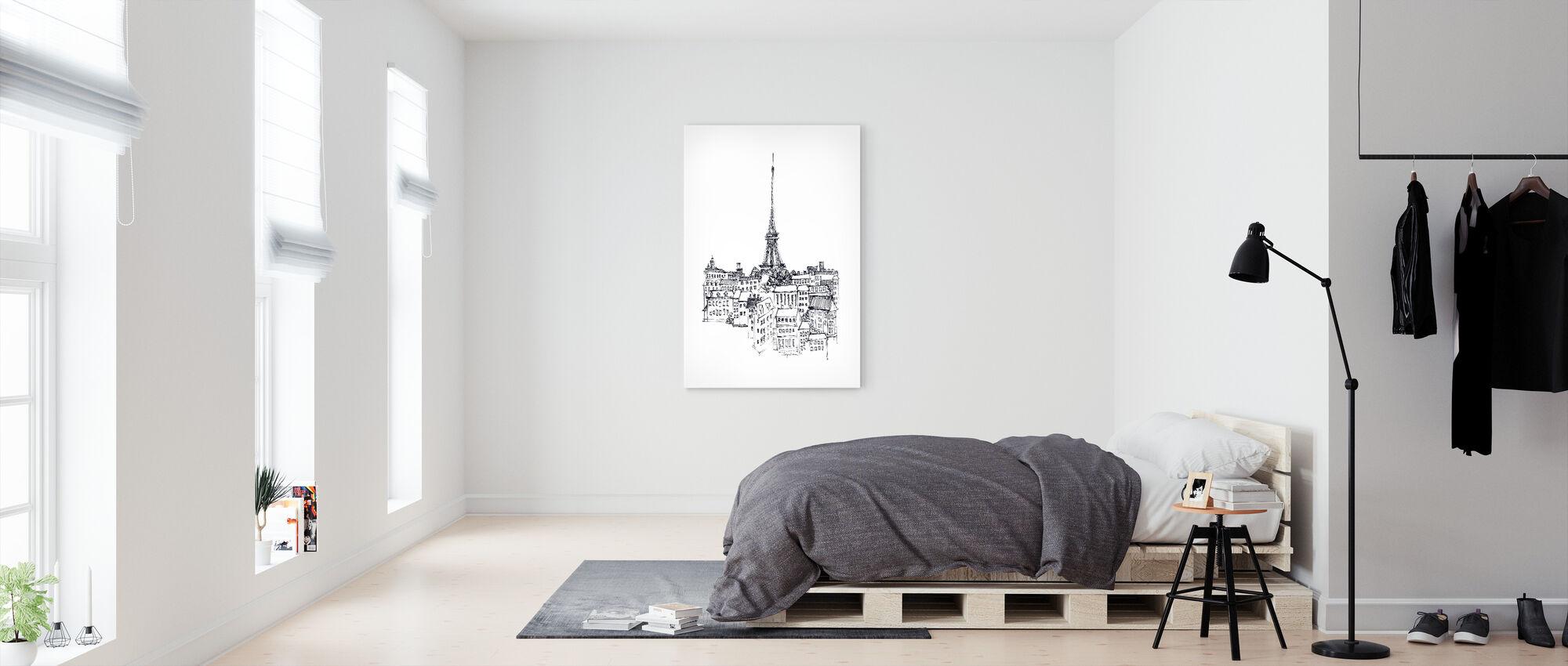 Avery Tillmon - Eiffel Tower - Canvas print - Bedroom