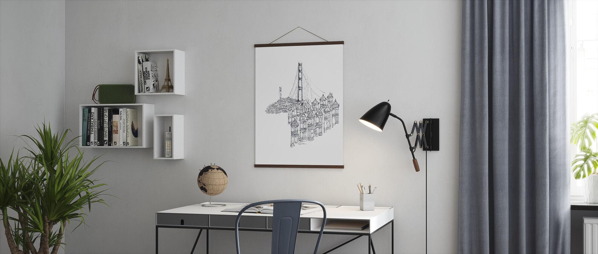 Avery Tillmon - Golden Gate - Poster - Kantoor