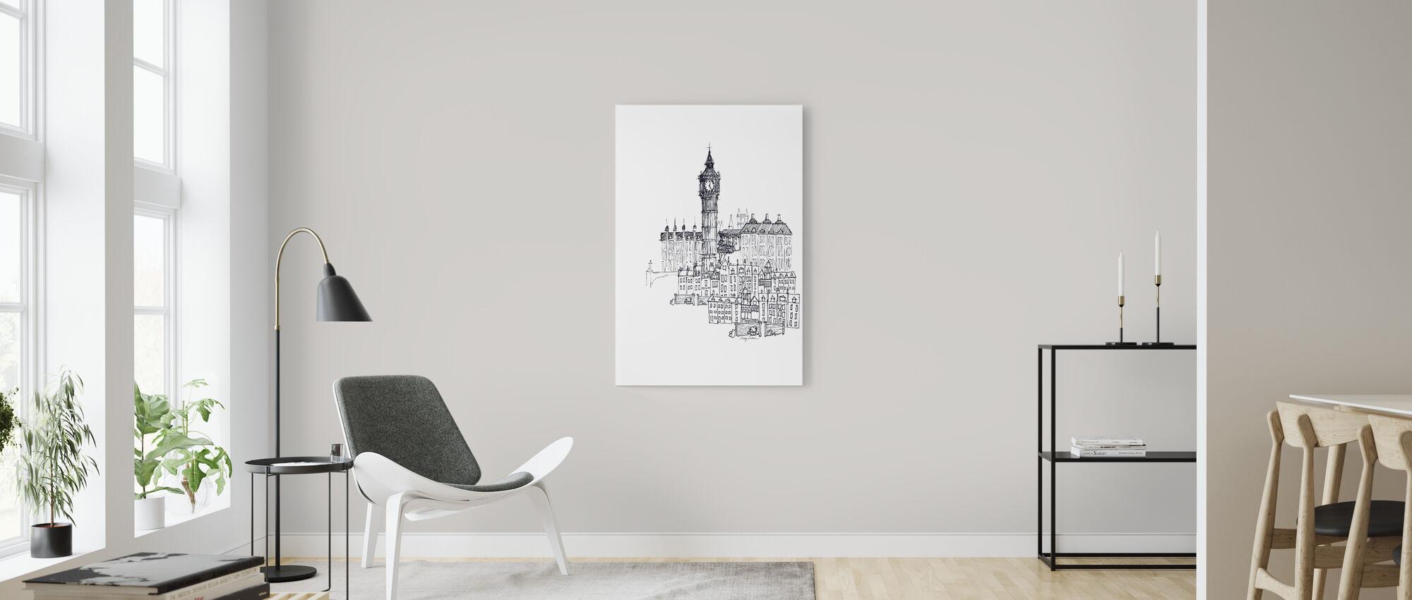 Avery Tillmon - Big Ben - Canvas print - Living Room