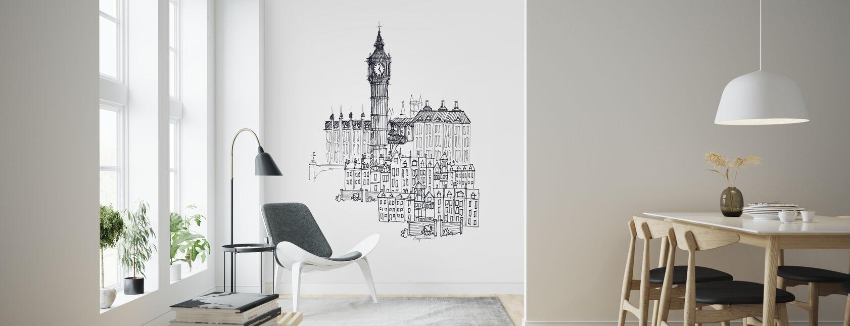 Avery Tillmon - Big Ben - Wallpaper - Living Room