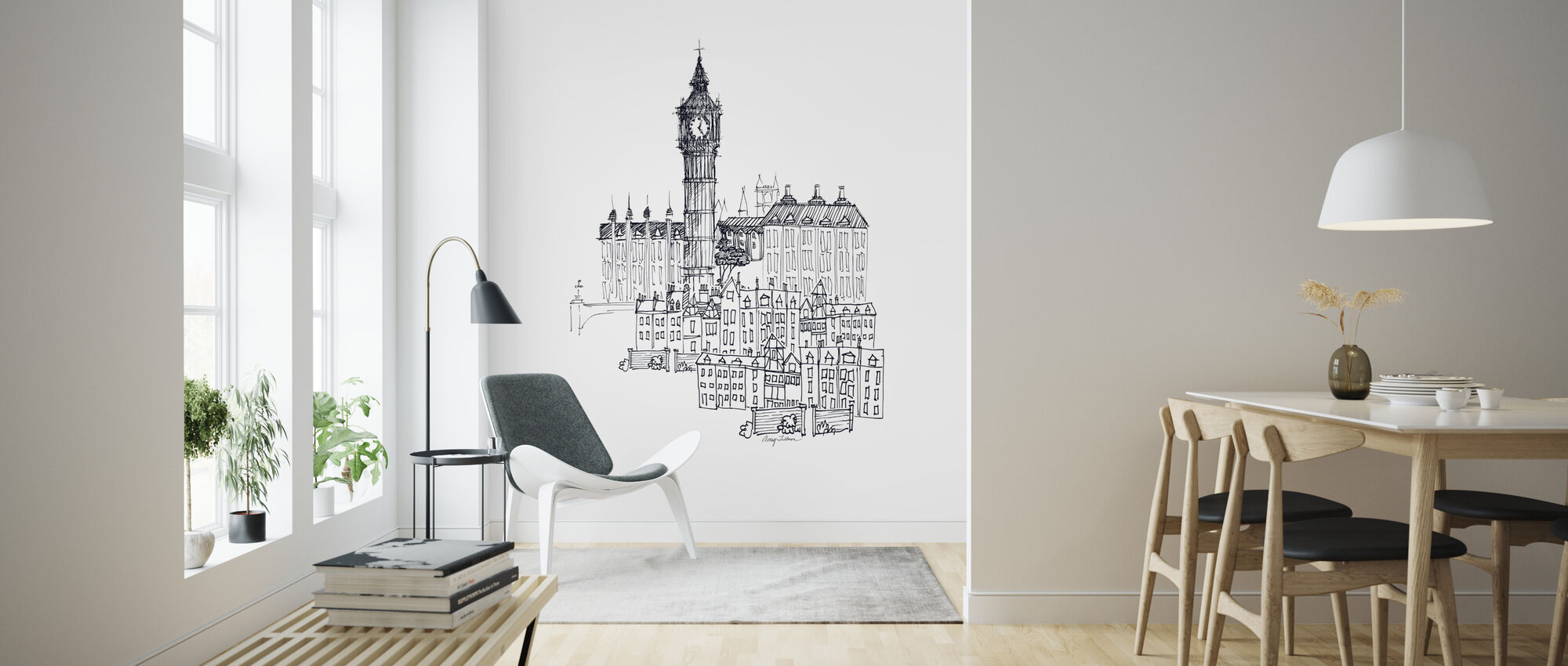 Avery Tillmon - Big Ben - Wallpaper - Living Room