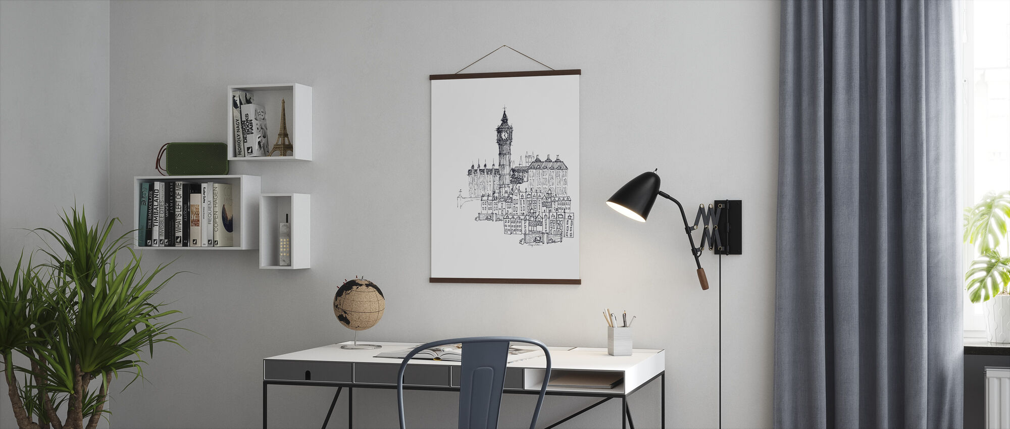 Avery Tillmon - Big Ben - Poster - Office