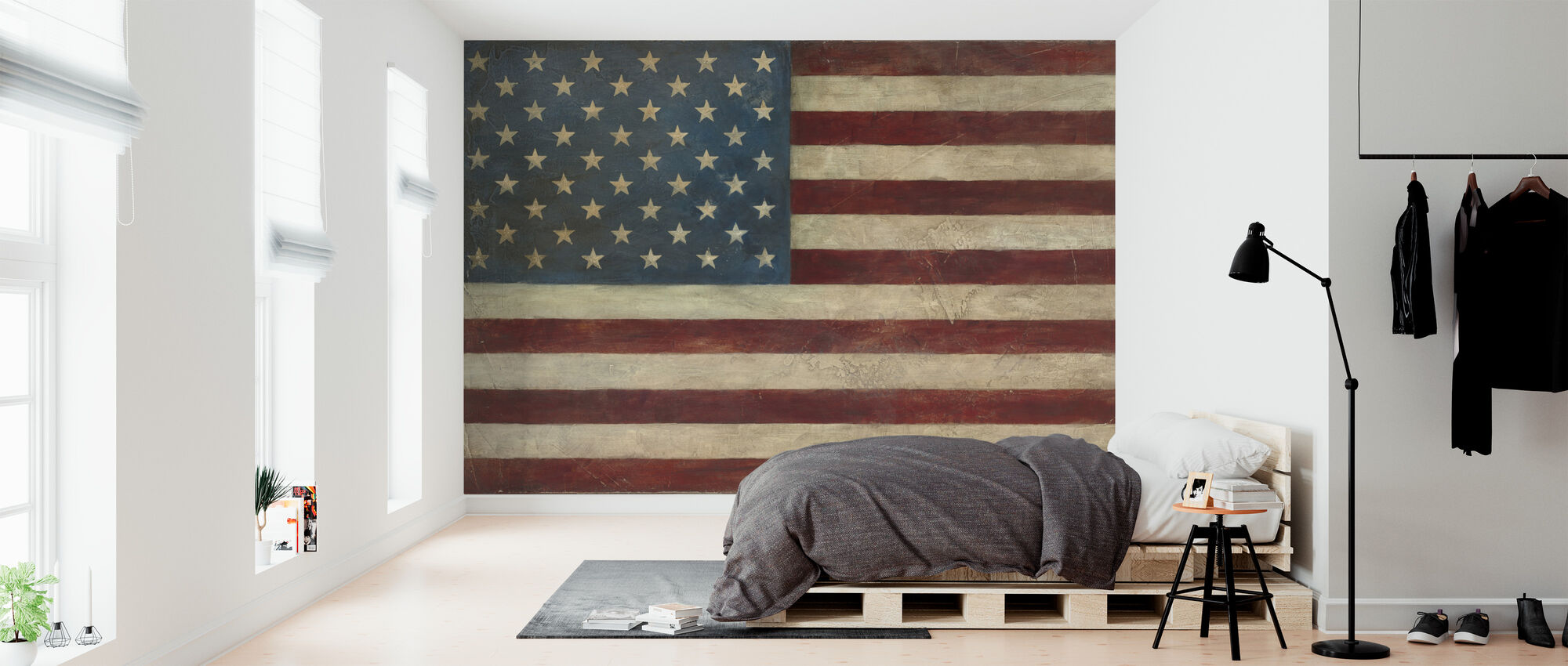 Avery Tillmon American Flag Made To Measure Wall Mural Photowall