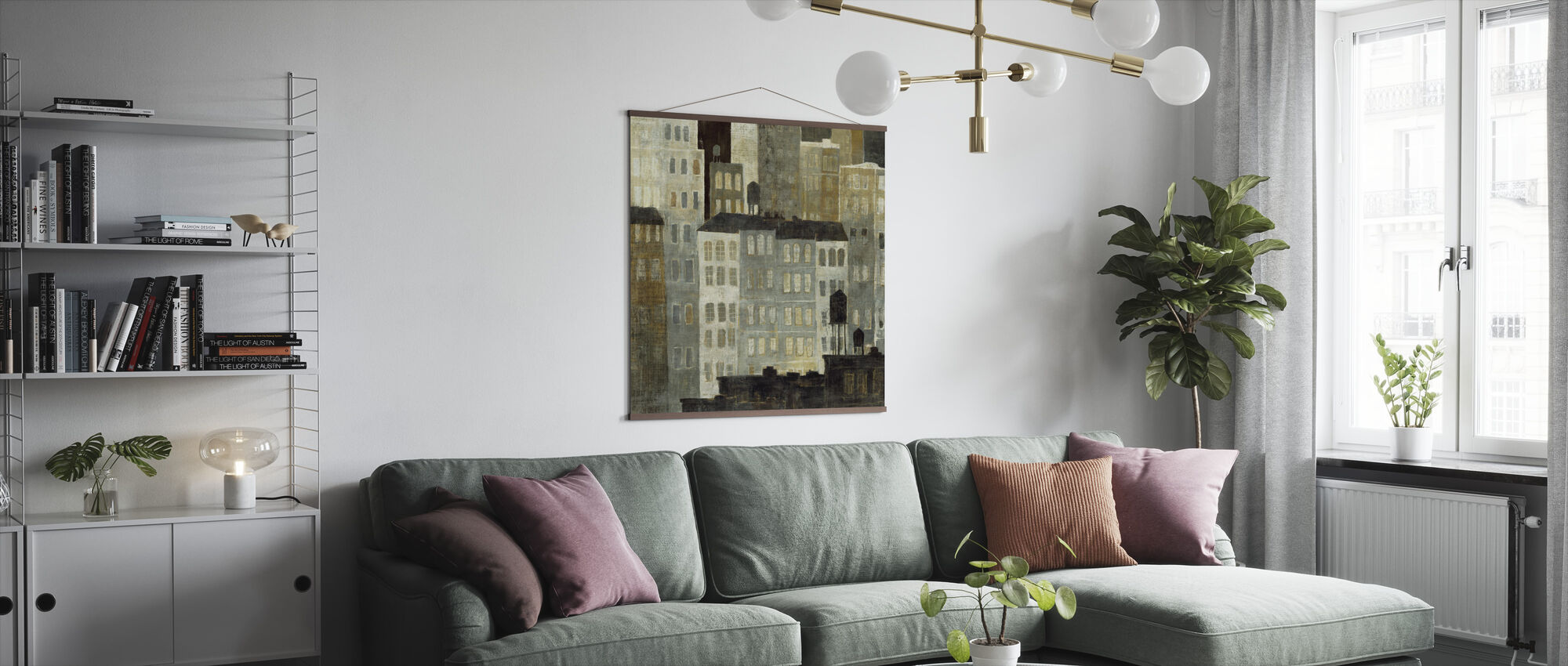 Avery Tillmon - Water Towers - Poster - Living Room