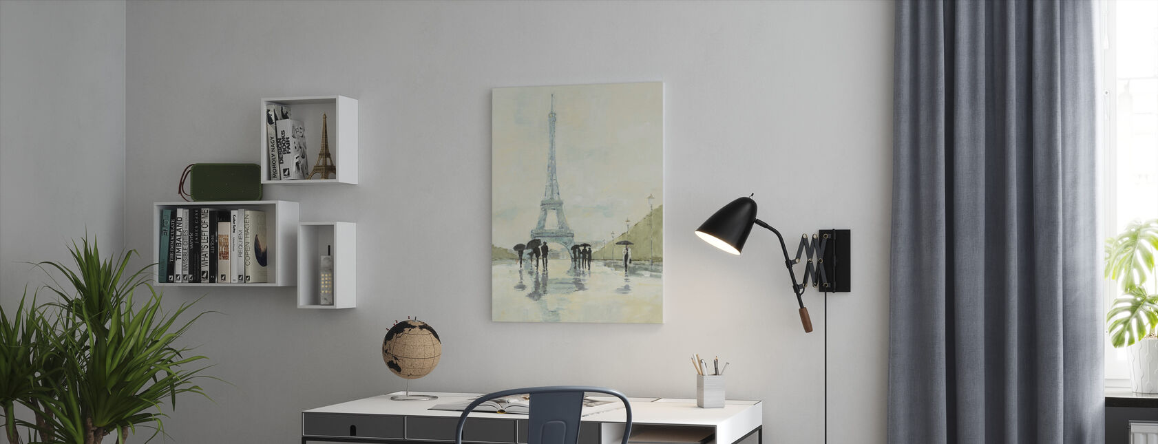 Avery Tillmon - April i Paris - Lerretsbilde - Kontor