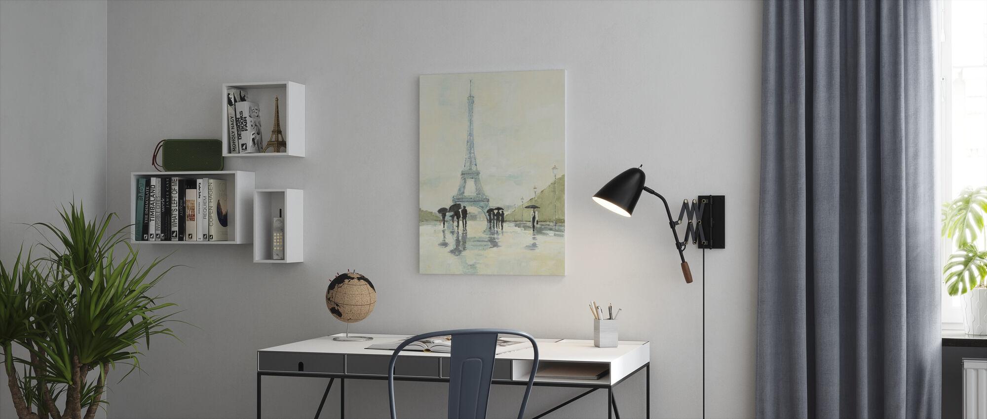 Avery Tillmon - April in Paris - Canvas print - Office