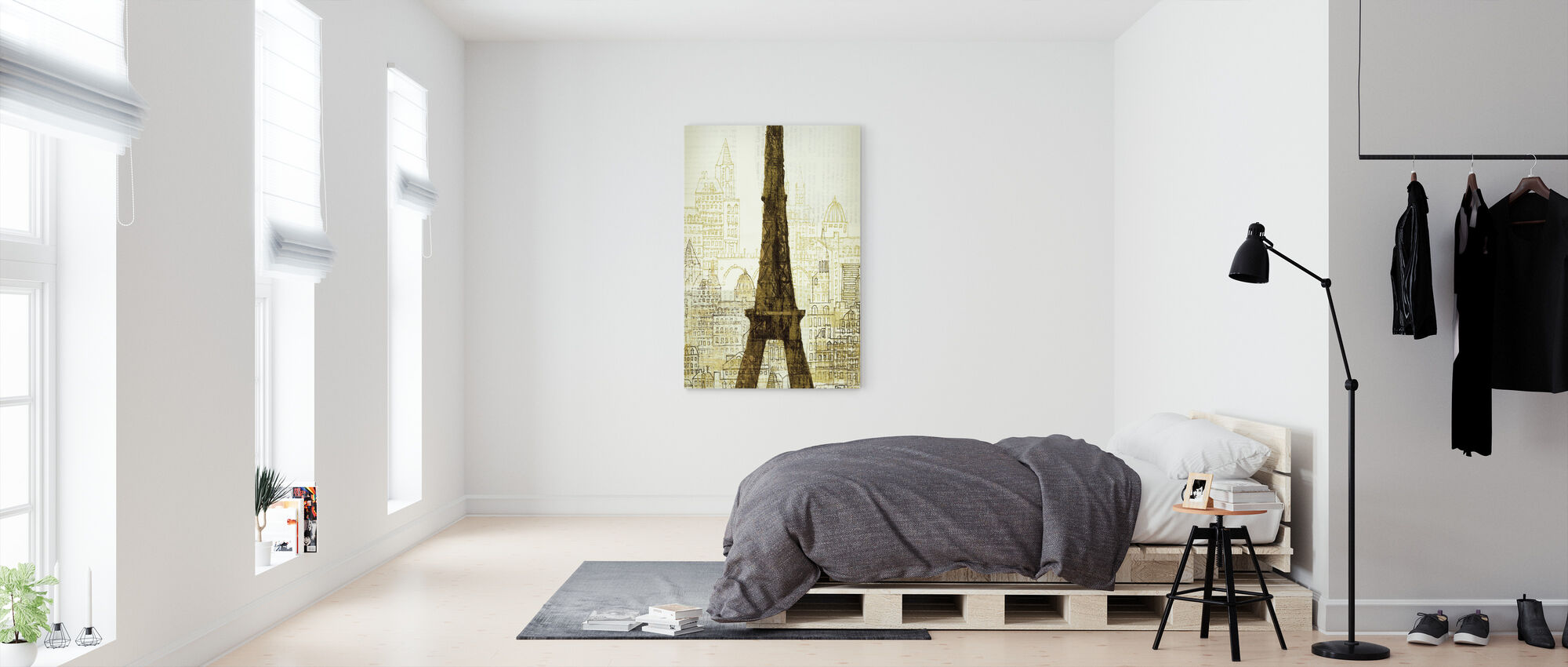 Avery Tillmon - 5th Avenue Anatole - Canvas print - Bedroom