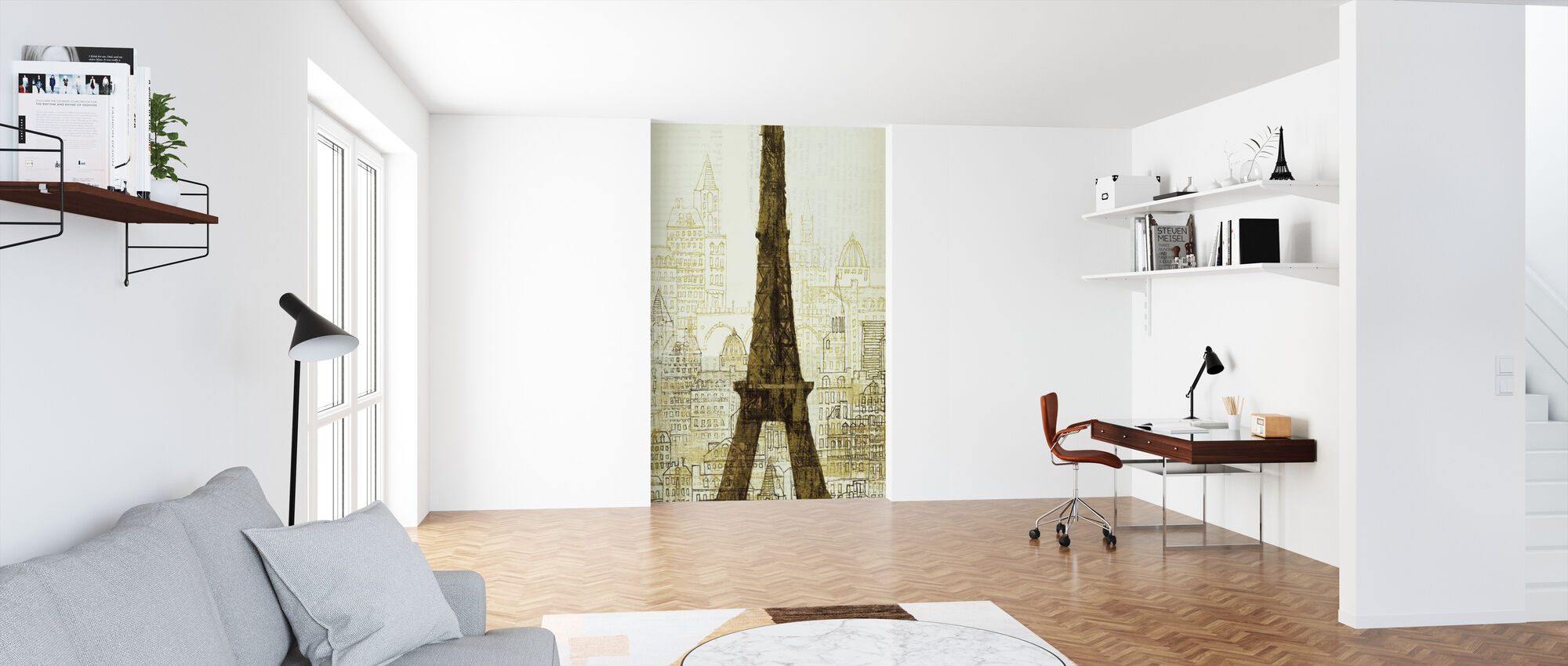 Avery Tillmon - 5th Avenue Anatole - Wallpaper - Office