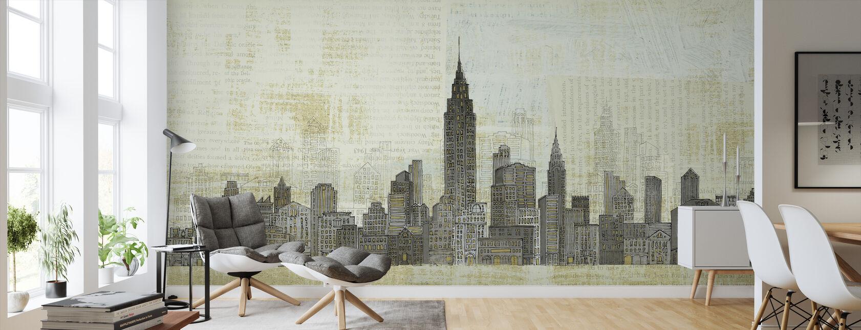 Avery Tillmon - Empire Skyline - Wallpaper - Living Room