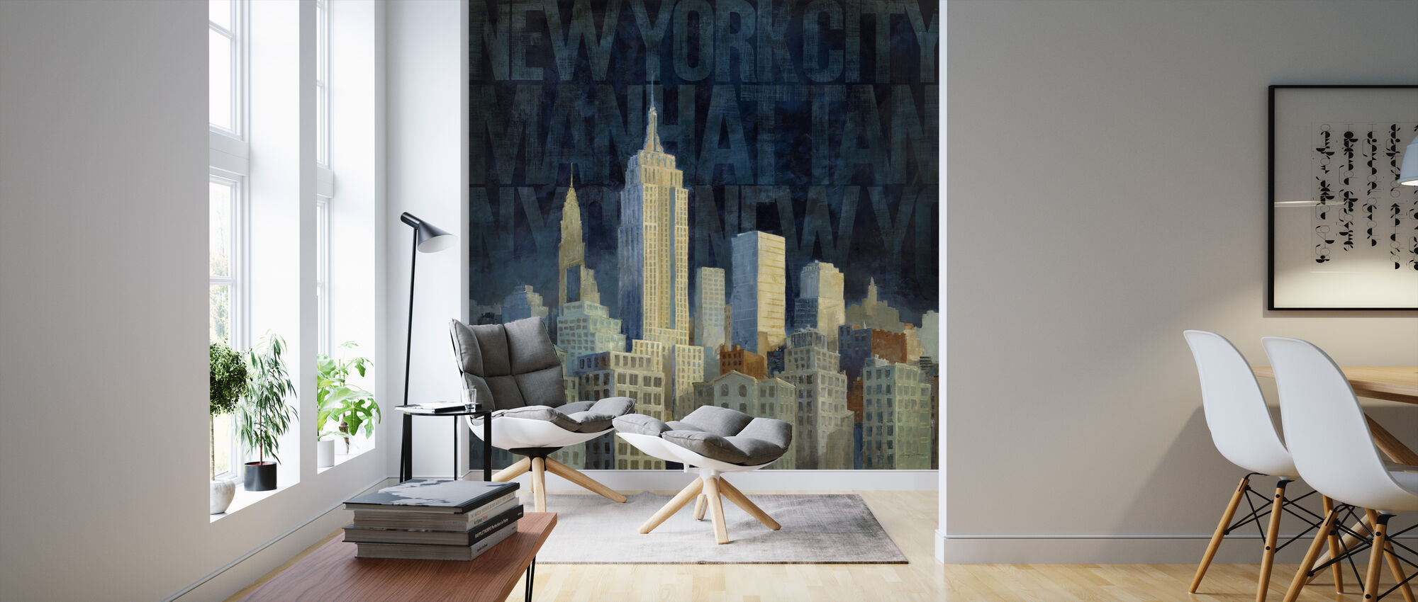 Avery Tillmon - Midnight in Midtown - Wallpaper - Living Room