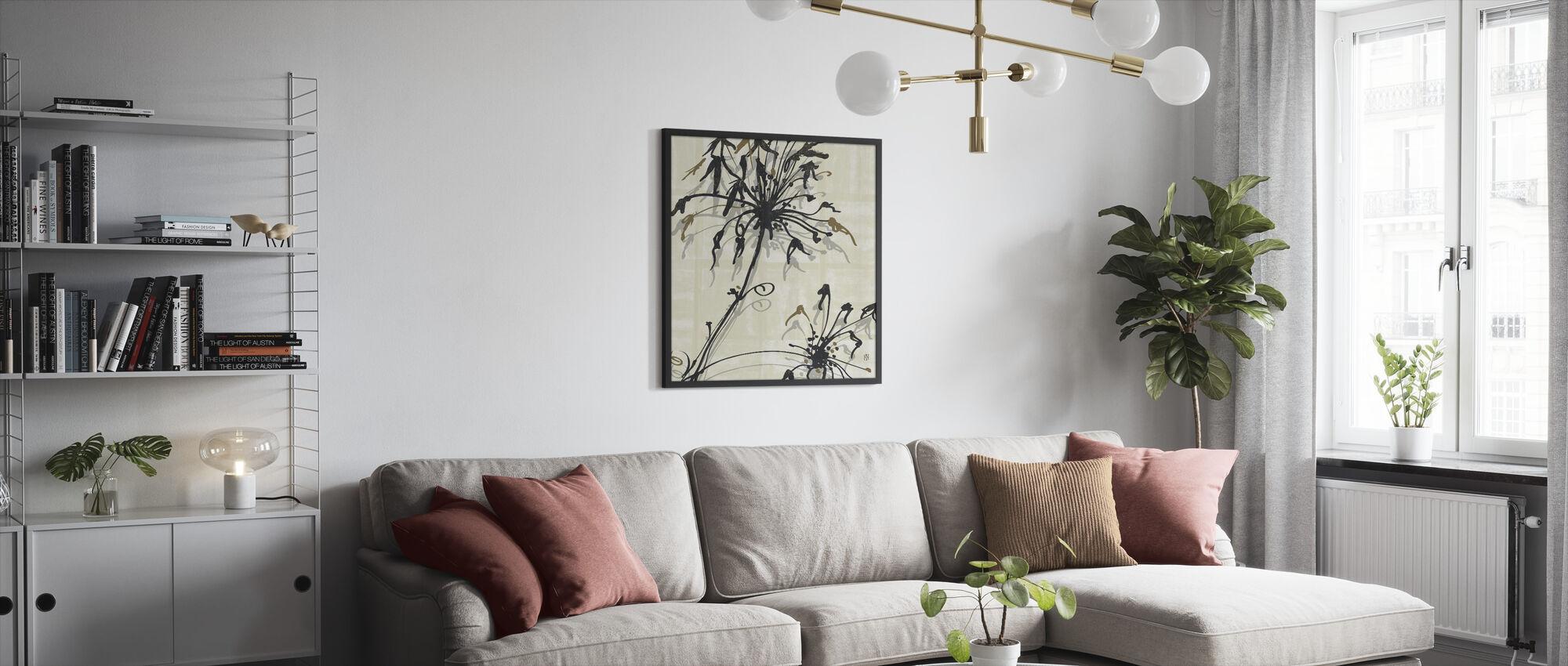 Avery Tillmon - Letting Go I - Framed print - Living Room