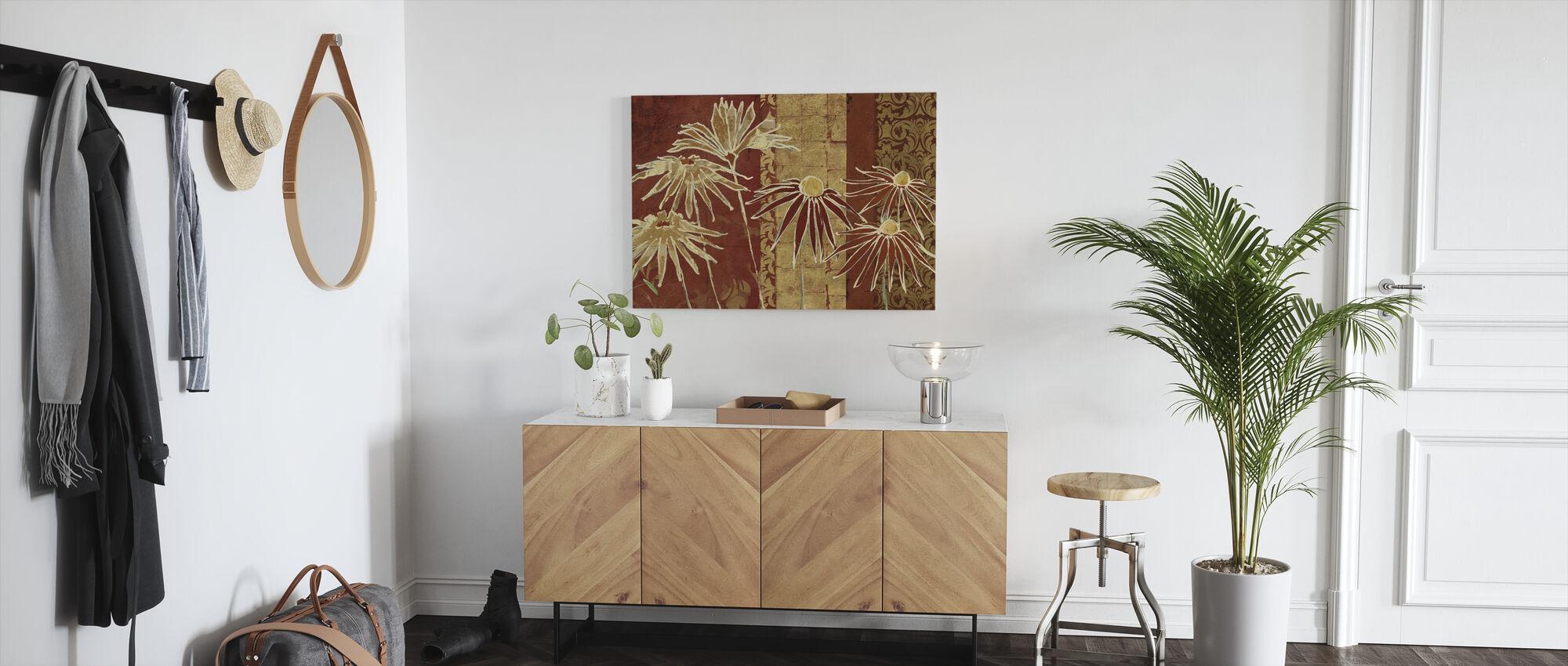 Avery Tillmon - Flowers on Spice - Canvas print - Hallway