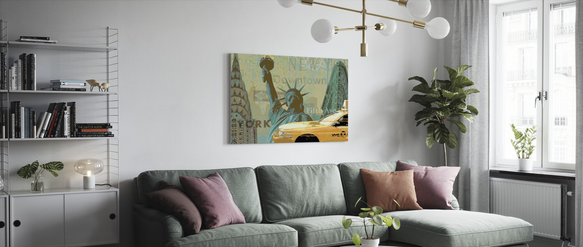 New York Weekend Collection - Canvas print - Living Room