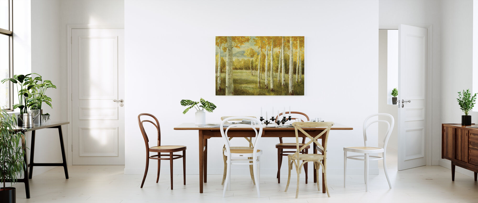 Aspen Birches - Canvas print - Kitchen