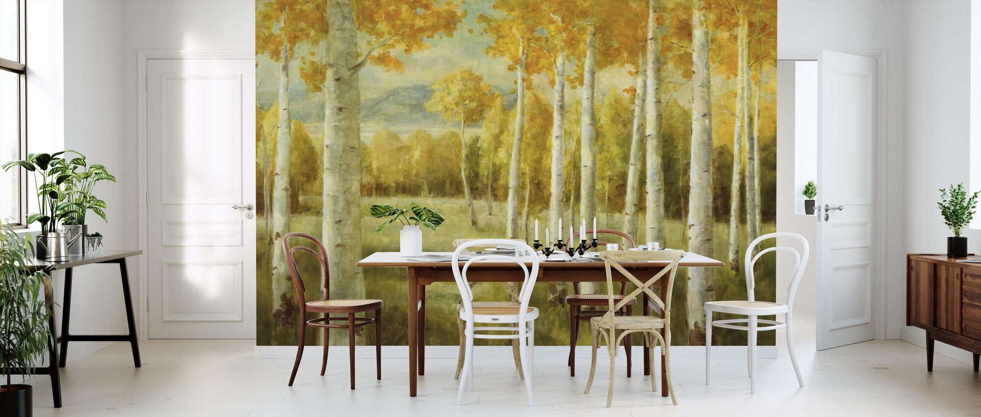 Aspen Birches - Wallpaper - Kitchen