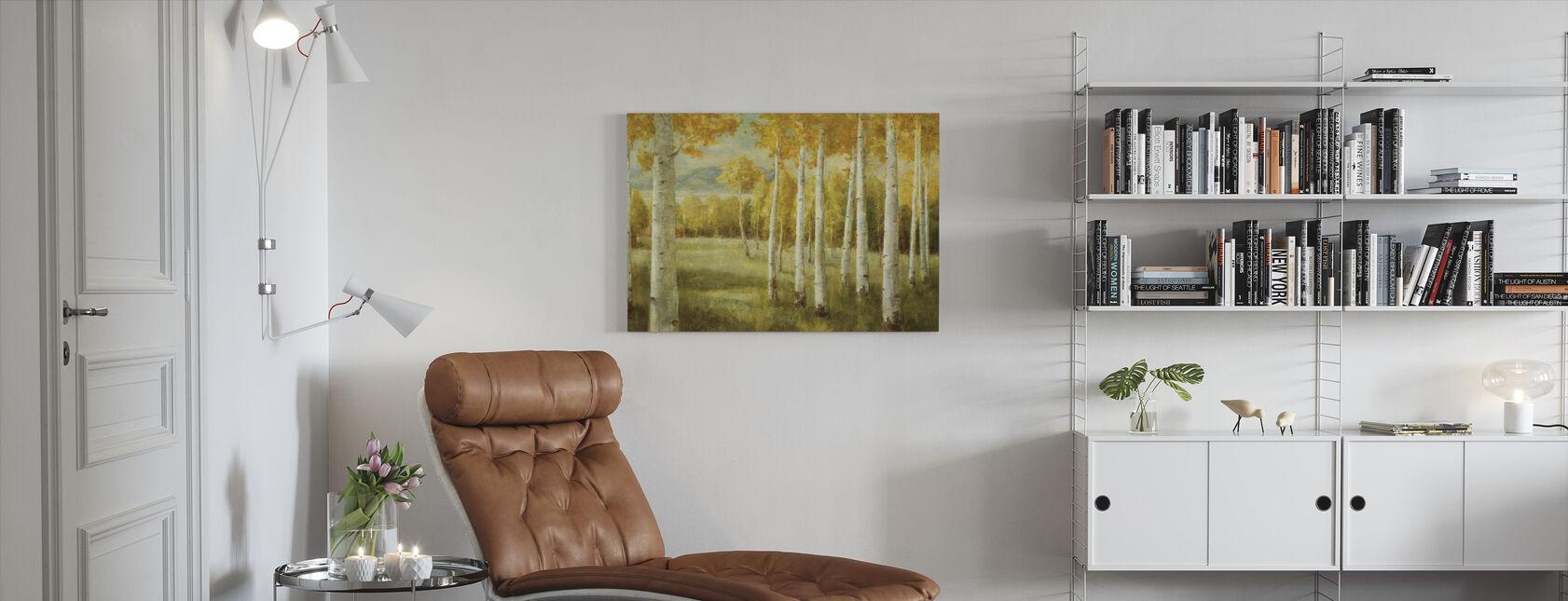 Aspen Berken - Canvas print - Woonkamer