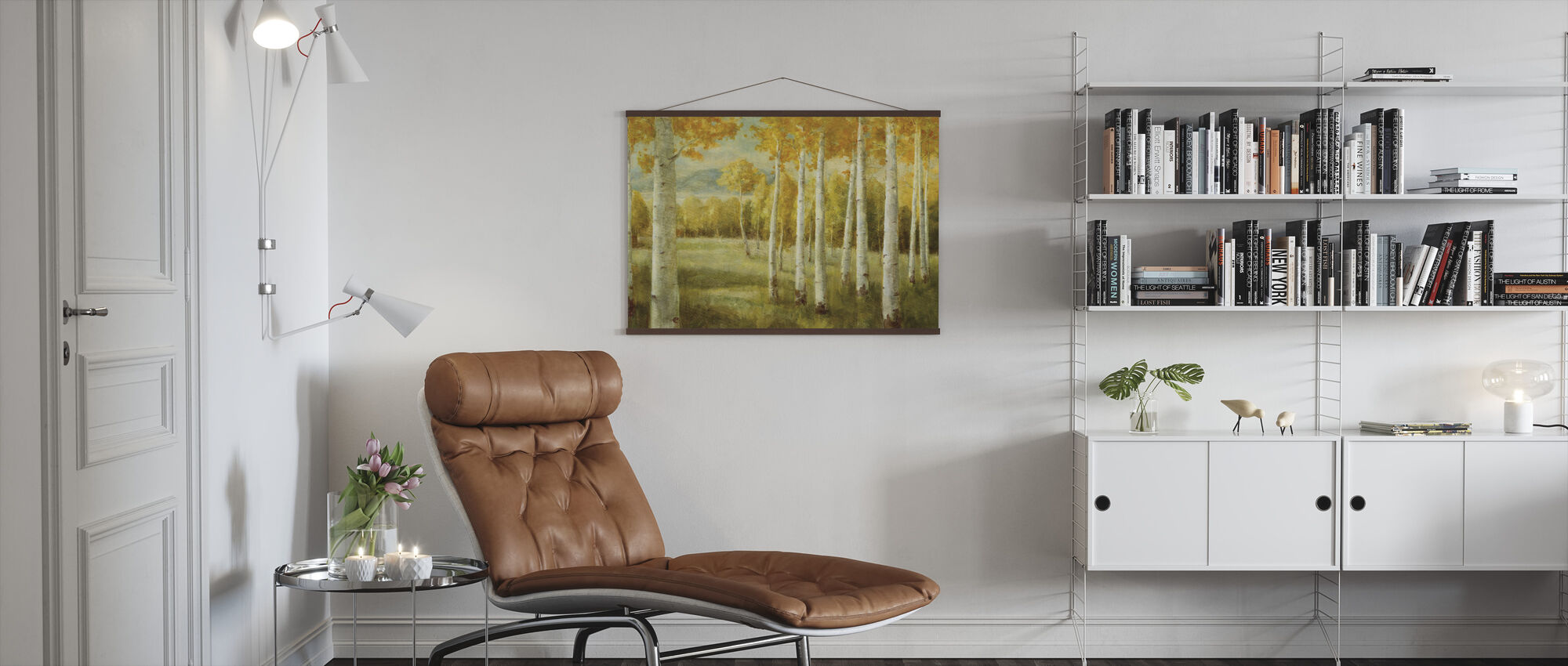 Aspen Birches - Poster - Living Room