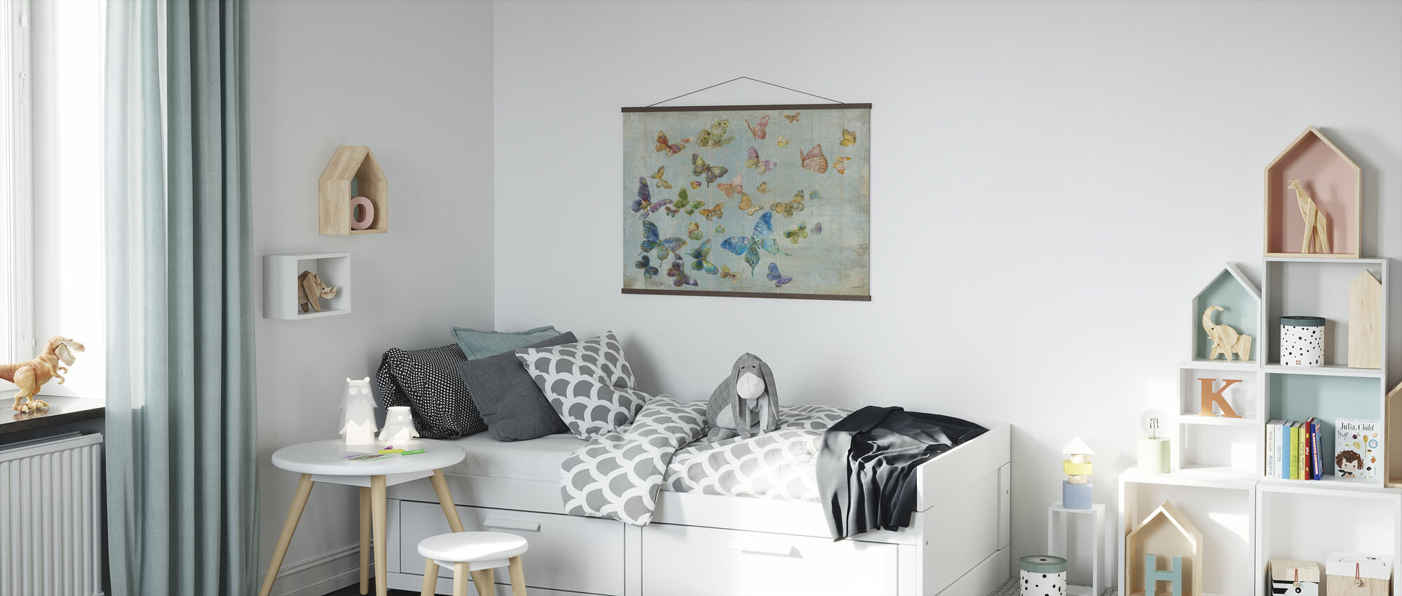 Butterflies - Poster - Kids Room