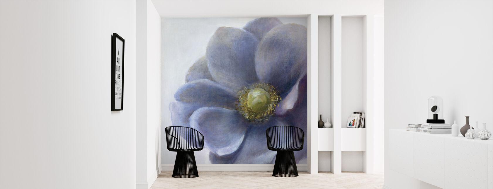Contemporary Anemone - Wallpaper - Hallway